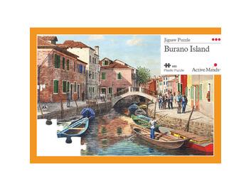 63 Piece Jigsaw Burano Island