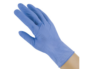 Boxes of 100 Nitrile Powder-Free Gloves (4 sizes)