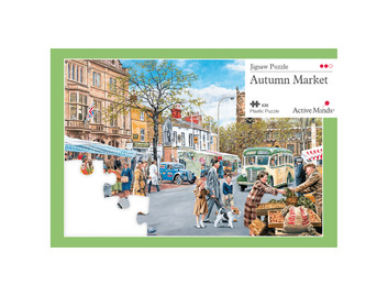 35 Piece Jigsaw Autumn Market