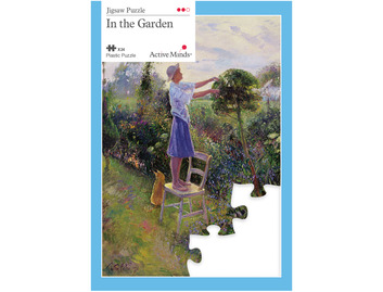 010A 24 Piece Jigsaw In the Garden