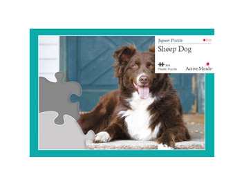 13 Piece Jigsaw Sheep Dog