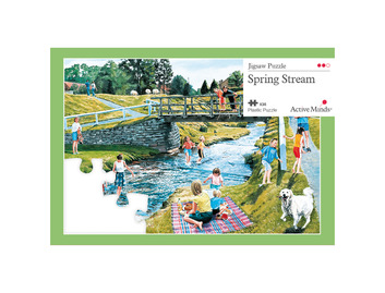 35 Piece Jigsaw Spring Stream