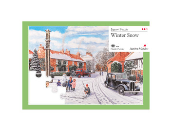 35 Piece Jigsaw Winter snow