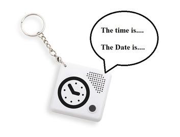 Talking Keychain Alarm Clock