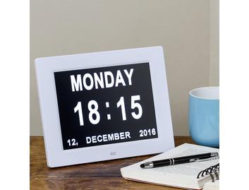 Dual Display Digital Day Clock