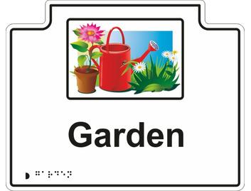 Z-Garden Sign