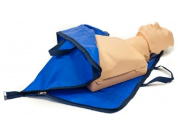 Practi-Man CPR manikin - dual adult and child - with carry bag/mat