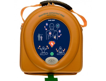 HeartSine samaritan PAD 360P with case