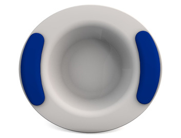 Childrens Decorated Bowl 330ml - White