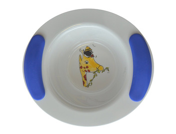 Childrens Decorated Bowl 330ml - Giraffe