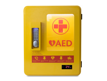 AED Heated Outdoor Storage Cabinet