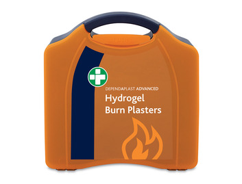 Dependaplast Blue Advanced Hydrogel Burn Plasters