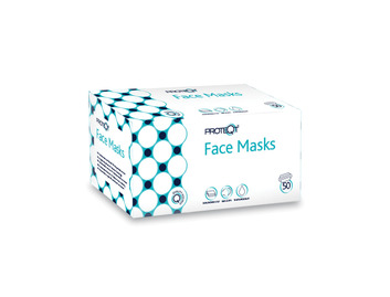 Box of 50 Reliance Non-Woven Face Masks