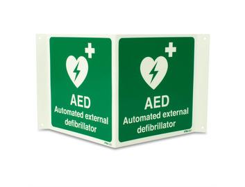 AED Xtra-Glo 3D - Rigid - 200 x 200mm