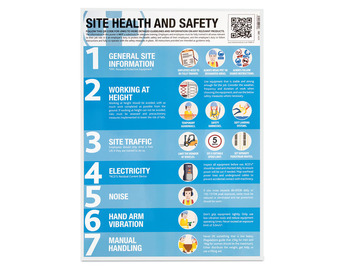 Construction Site Guidance Poster (Pack of 10)