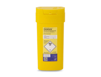Sharps Container - 0.6 Litre
