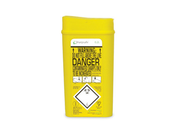 Sharps Container - 0.2 litre