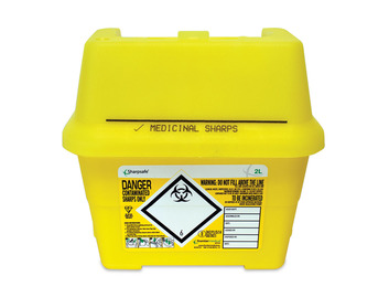 Sharps Container - 2 Litre
