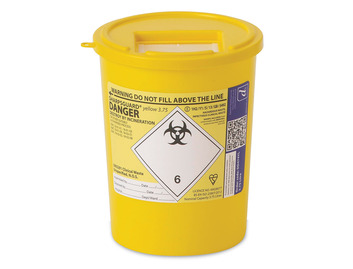 Sharps Container - 3.75 Litre