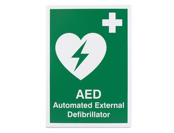 AED / Defibrillator  - Rigid - 297 x 210mm