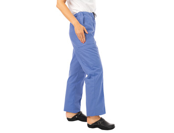 Unisex Scrub Trousers Hospital Blue 145gsm