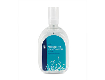 6 x 500ml Bottles of Relisan Alcohol-FREE Hand Sanitiser