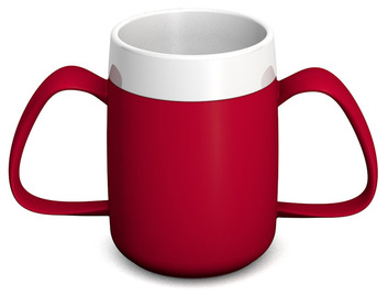 Two Handle Mug with Internal Cone