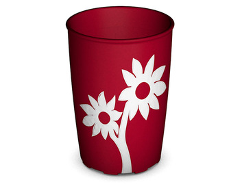 Non-Slip Cup with Flower