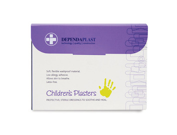 Dependaplast Washproof Children's Plasters