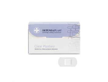 Dependaplast Clear Plasters
