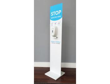 Floor Standing Hand Sanitiser Unit