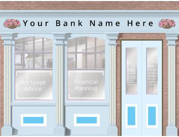 Bank 3200mm Wide