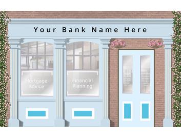 Bank 3730mm Wide