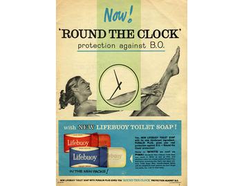 Lifebuoy Soup ' Round the Clock' (BATH001)