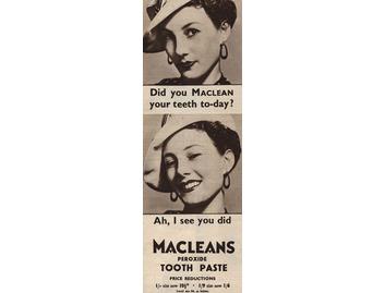 Maclean's Peroxide Toothpaste (BATH003)