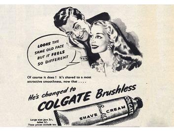 Colgate Brushless Shave Cream (BATH009)