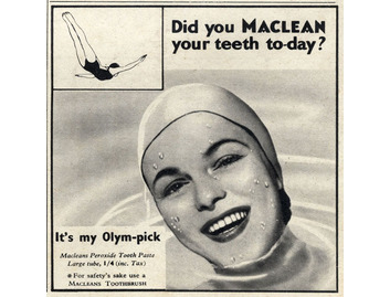 Mclean's Olym-pick Peroxide Toothpaste (BATH010)