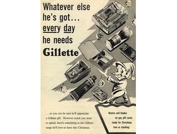 Everyday He Needs Gillette (BATH012)