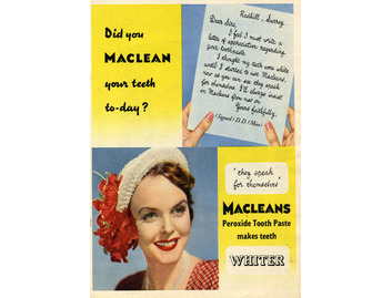 Macleans 'They Speak for Themselves' (BATH017)