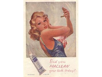 Maclean's 'Lady in Shower' (BATH019)