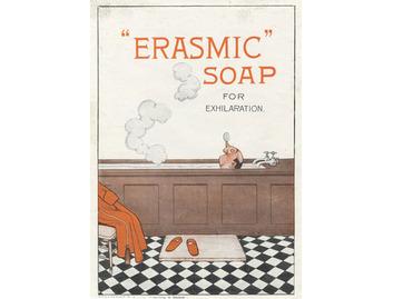 Erasmic Soap 'For Exhilaration' (BATH020)