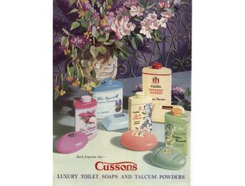 Cusson's Toilet Soaps & Talcum Powders (BATH024)