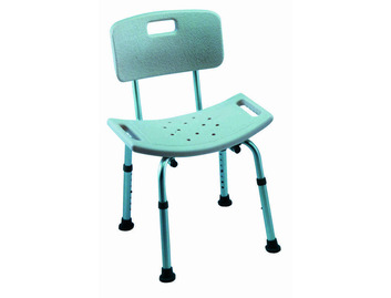 Cadiz adjustable shower stool with backrest (Pack of 2 )