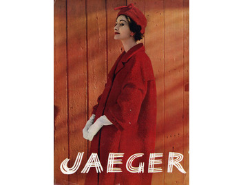 Jaeger Red Coat and Hat (FA033)
