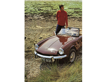 Gentleman with MG Car (FA041)