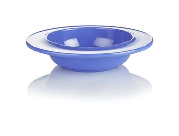 009D Dish/Bowl Blue