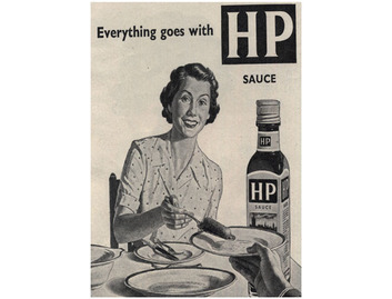"""Everything Goes with HP Sauce"" (FO046)"