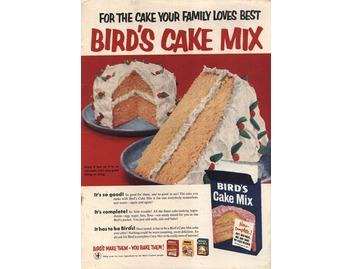 Bird's Cake Mix (FO056)