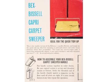 Bex-Bissell Capri Carpet Sweeper (FO085)