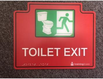 Toilet Exit